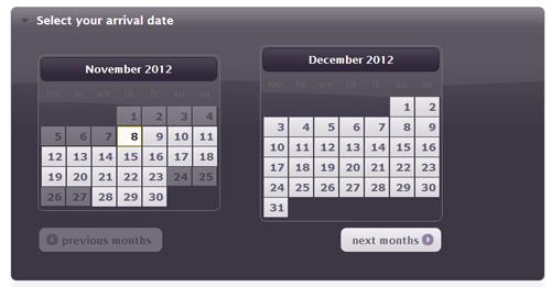 Calendar B&B