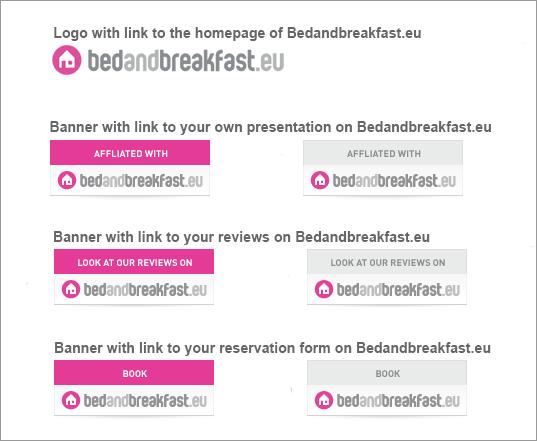 Banner Bedandbreakfast.eu
