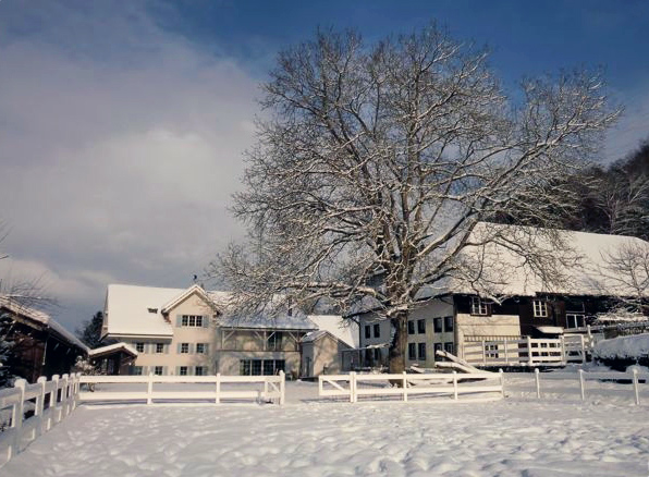 B&B Landhaus Peters in the winter
