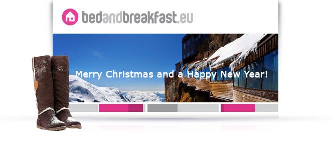 Christmas Greeting Bedandbreakfast.eu