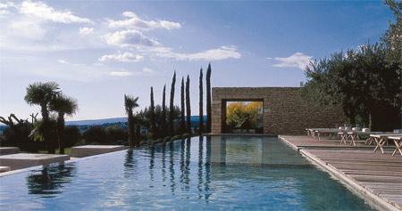 B&B swimming pool in France