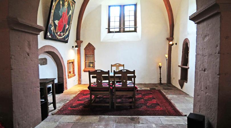 Dormir en un castillo